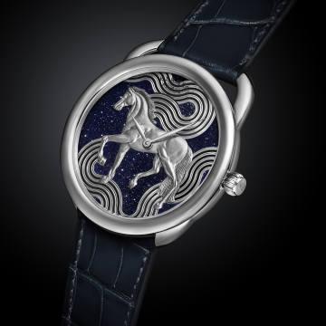 Hermès white-gold Arceau Cheval Cosmique, £41,520