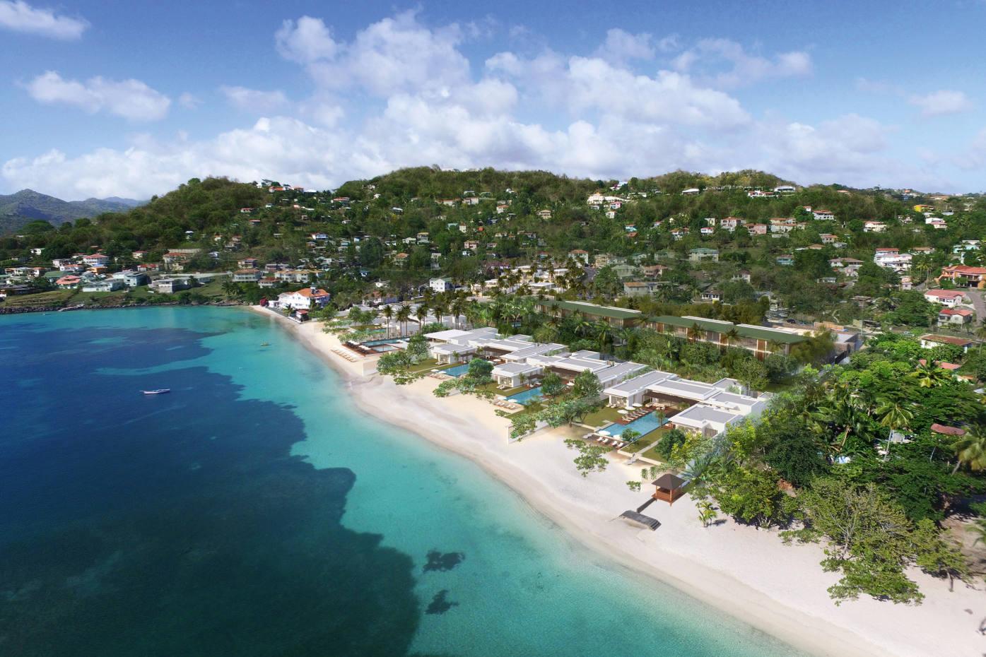Silversands sits on Grenada's stunning Grand Anse beach