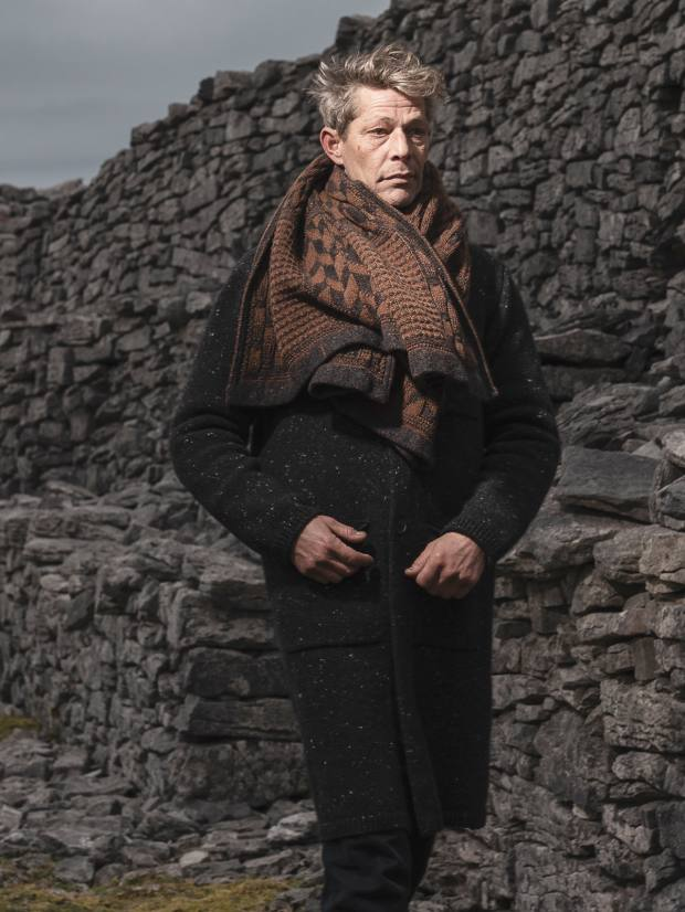 Inis Meáin merino/cashmere scarf, €220