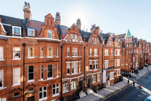 Draycott Place, where a one‑bedroom flat is available at £1.25m through Knight Frank