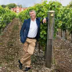 Ian Kellett, managing director of Hambledon Vineyard