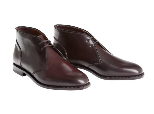 Ludwig Reiter shell cordovan Chukka boots, from £1,069. Made to order