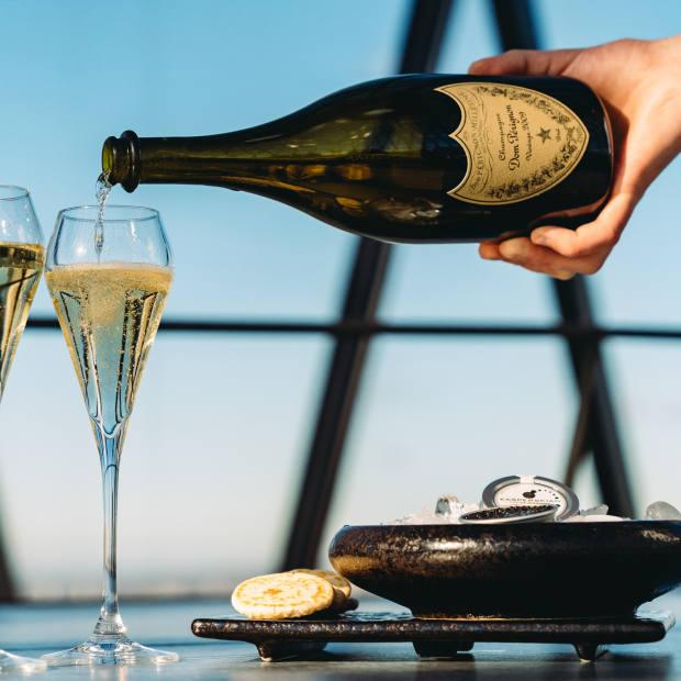Each brunch will include Dom Pérignon 2009