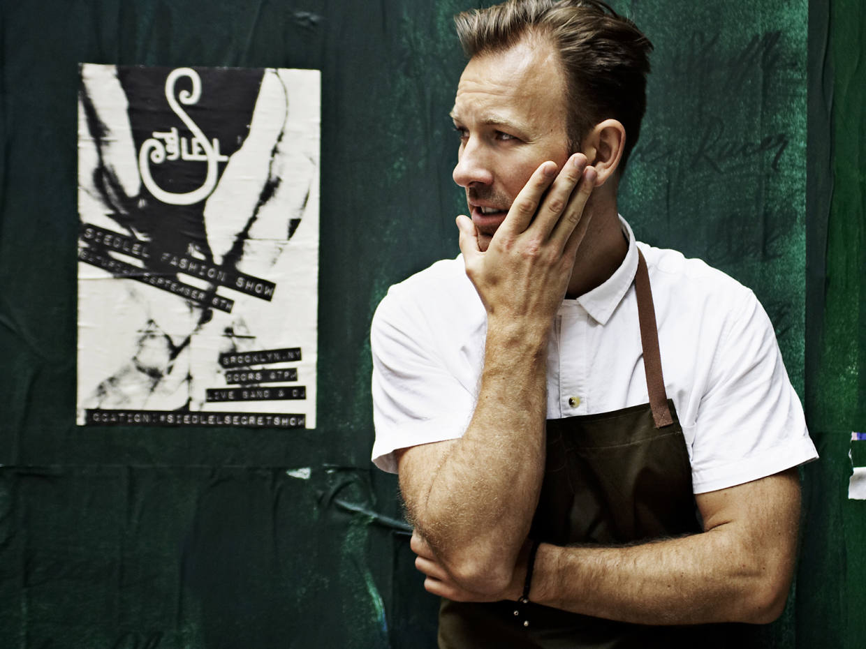 Chef Mads Refslund, co-founder of Copenhagen's two-Michelin-starred Noma restaurant
