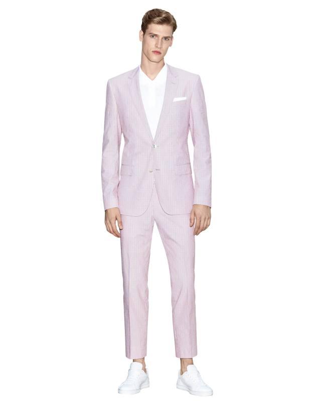 Hugo Boss cotton Hedson/Gander suit, £580