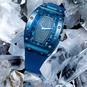 Richard Mille titanium RM 07-02 Automatic Blue Lady, £1.1m