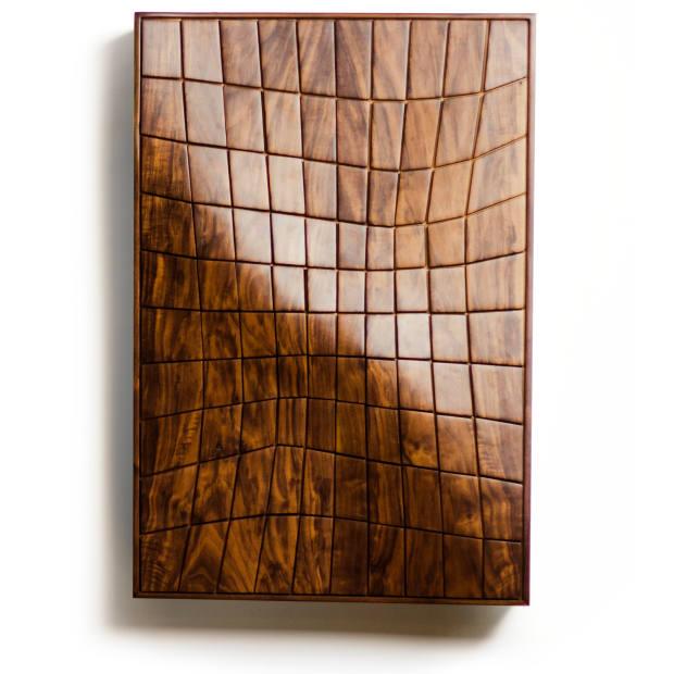 Ahmad Khouja for Damj Design/Craft walnut and beech Curiosity chest, $5,000