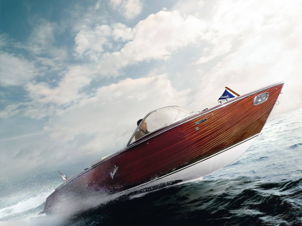 The 710 Costa Brava by Boesch, which handbuilds some 15 boats a year, with a starting price of about £137,000