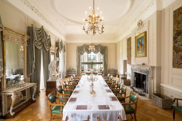 The events include lunch, with speakers' dinners as an optional extra