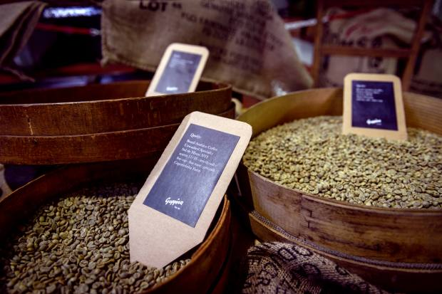 Goppion Caffè roasts its own beans and produces a variety of blends