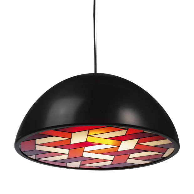 Lee Broom stained glass and steel Chapel light, price on request