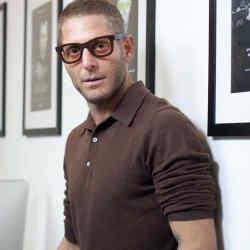 Entrepreneur Lapo Elkann in his office in Turin