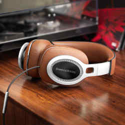 Bowers & Wilkins' P9 Signatures are made with Italian Saffiano leather