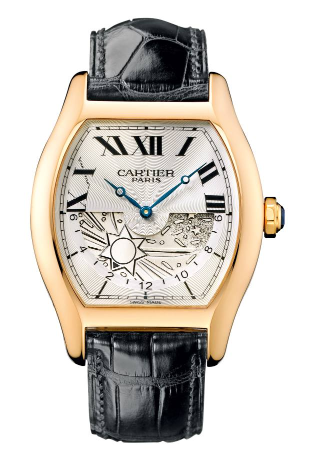 2009 Tortue XL Dual Time Zone, £26,700, from Cartier