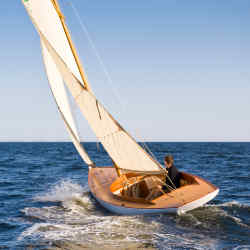 Artisan Boatworks' daysailers, racers and cruisers are built to endure, wooden heirlooms that are delivered all over the world