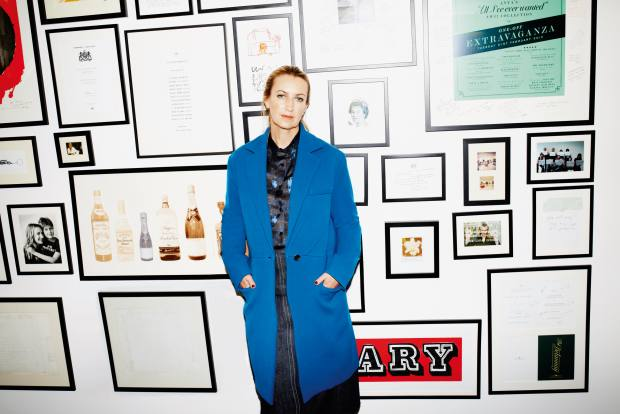 Anya Hindmarch in her London office