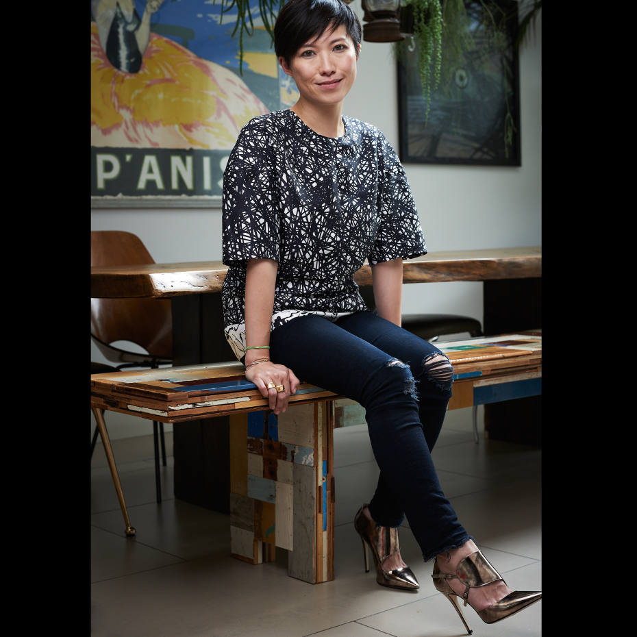 Sandra Choi at her home in southwest London