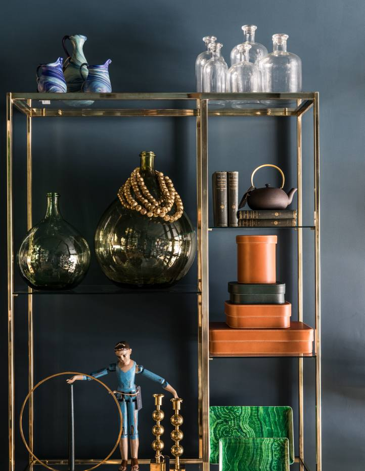 Vibrant Palestinian blown glass and other decorative curiosities