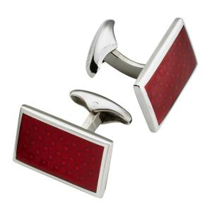 Corneliani cuff links in brass and enamel, £120
