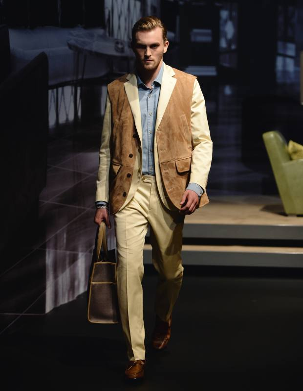 Tod's suede gilet, £1,900