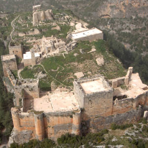 The vast stronghold of Salah ad-Din.