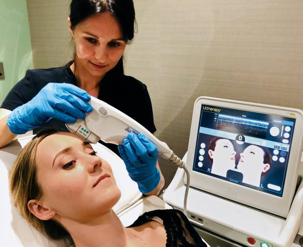 Williams' Triple Eye Lift also uses high-intensity ultrasound
