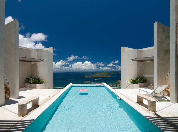Mangwana villa, available through Grenadine Escape