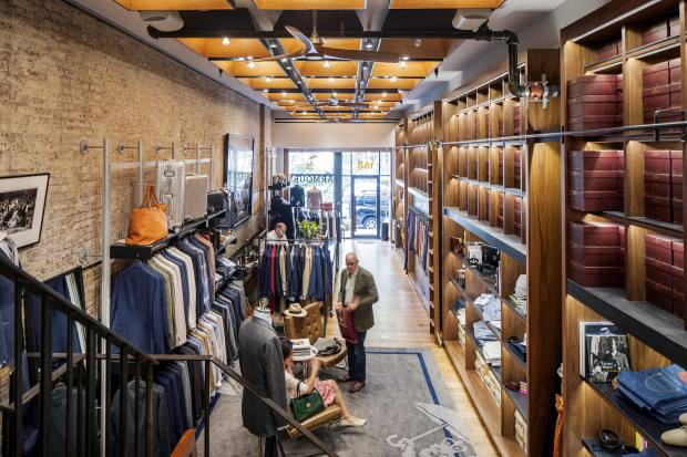 The Armoury's third branch, in New York, was its first outside Hong Kong