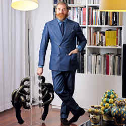 Buonamassa Stigliani at home in Hauterive, Switzerland