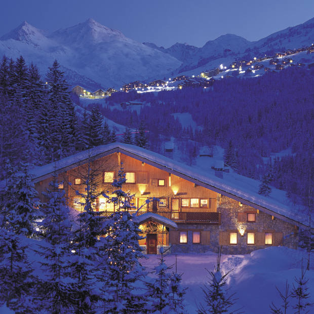 Chalet Les Brames in Méribel, France, sleeps 15 guests. Through Consensio Holidays.