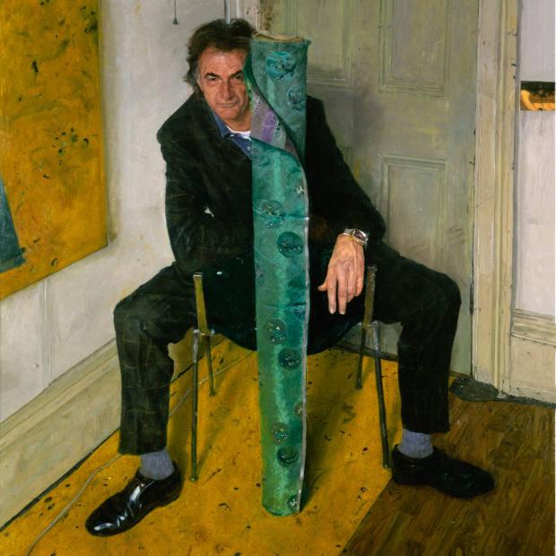 James Lloyd's portrait of Paul Smith