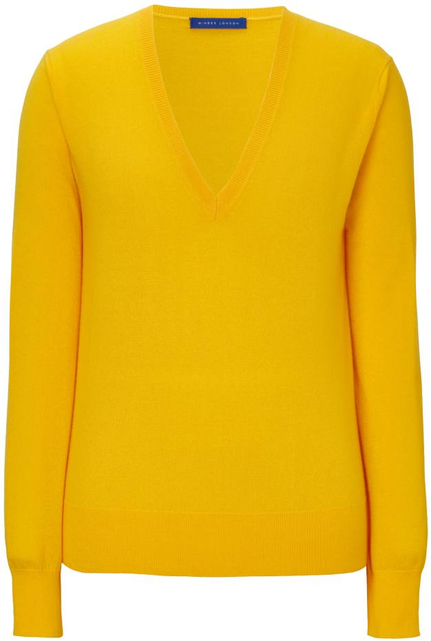 Winser London cashmere V-neck jumper, £199