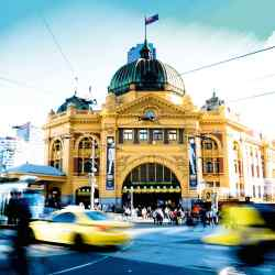 Melbourne's Flinders Street railway station