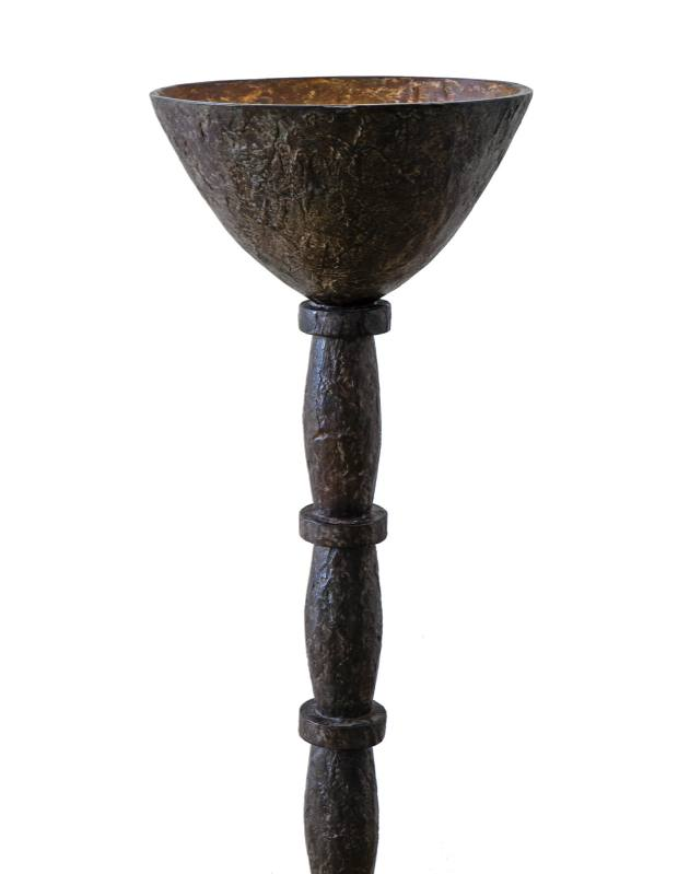 Philippe Anthonioz for Ralph Pucci sculptural bronze floor lamp, price on request
