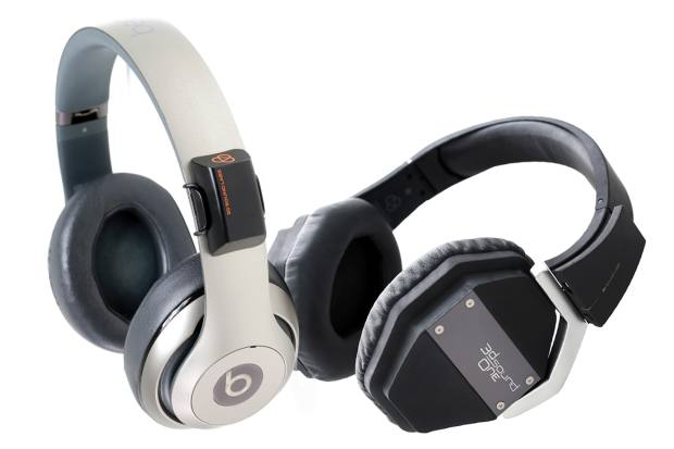 From left: 3D Sound Labs clip-on module, £79, and the 3D Sound Ones themselves, £179