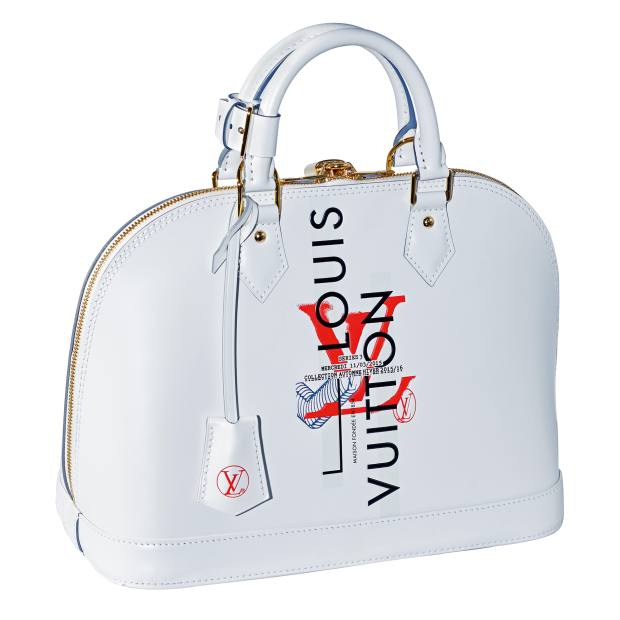 Louis Vuitton calfskin Alma bag, £1,500