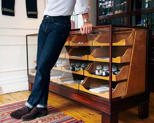 Blackhorse Lane's men's jeans start at £155