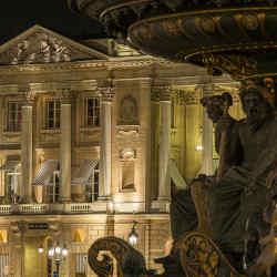 Hôtel de Crillon is housed in an Ange-Jacques Gabriel-designed palace facing the Place de la Concorde