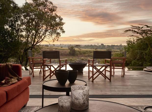 The Geoffrey Kent Suite at Sanctuary Olonana