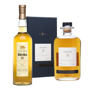 Glenury Royal 1970, £499. A 35-year-old Brora, £1,200