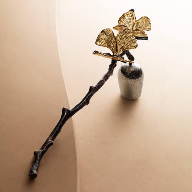 Michael Aram Butterfly Ginkgo candle snuffer, $80