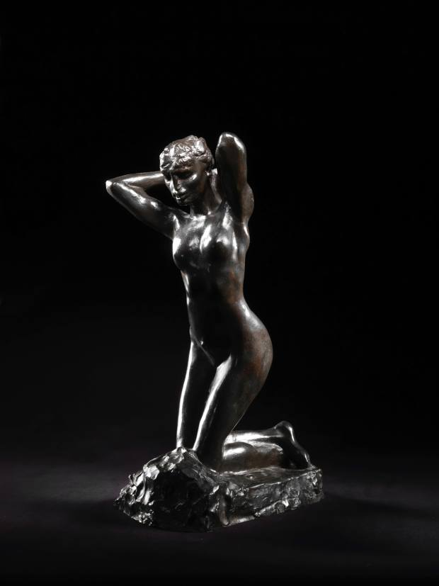 Faunesse à Genoux by Rodin, estimated at £100,000-£150,000