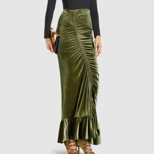 Preen velvet skirt, £655