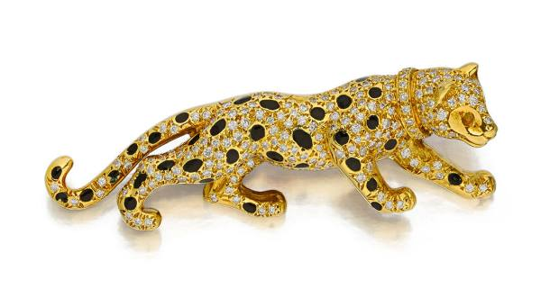 Panther brooch, $1,000-$2,000