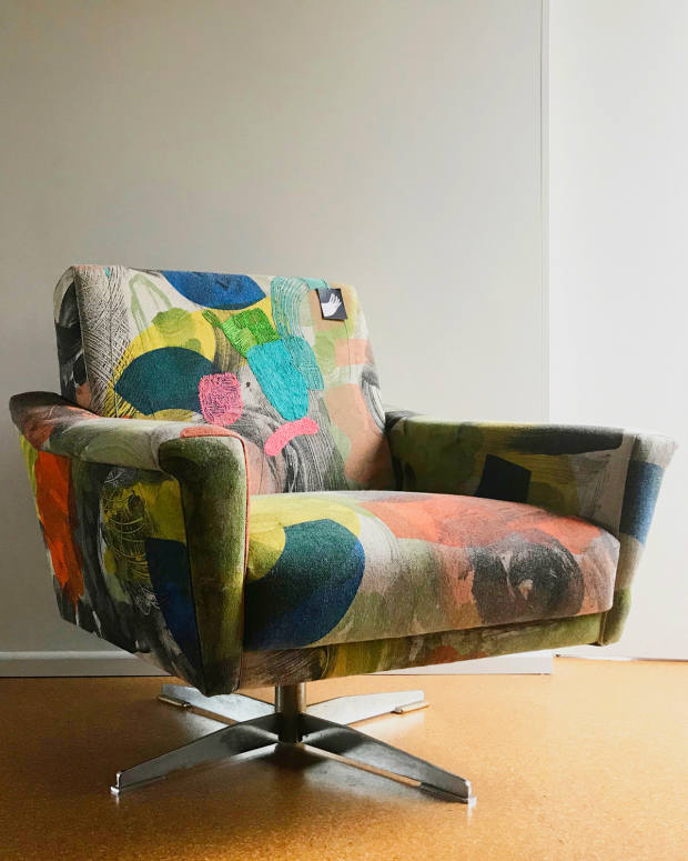 A fully upholstered chair starts from £1,700 – not including the chair