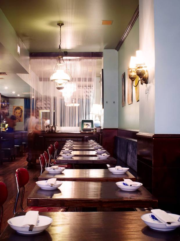 Café China's decor is 1930s-inspired