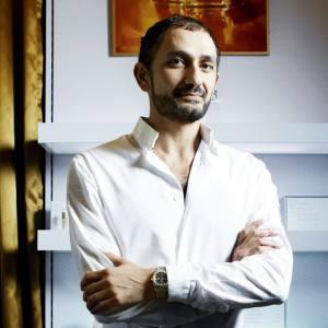 Francis Kurkdjian at Maison Francis Kurkdjian in Paris