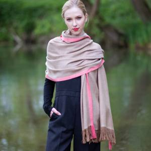 Thread Tales cashmere-blend scarf, £275