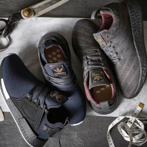 Henry Poole has worked with Adidas to create two pairs of limited edition trainers