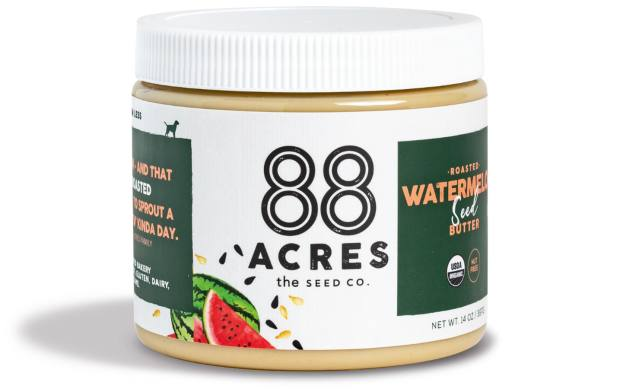 88 Acres watermelon seed butter, $14.99, hello@88acres.com